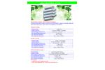 Aimer - Model PP - Pleated Filter Cartridge Brochure
