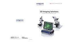 Model KH-7700 - 3D Digital Microscope System Brochure