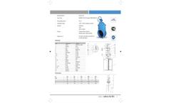 Hakohav - Model Hak AWWA - Non Rising Stem Resilient Seated Gate Valve Brochure