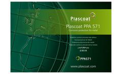 Model PPA 571 - Durable Plastic Coating - Brochure