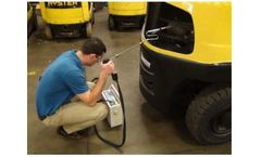 Forklift & Small Engine Exhaust Gas Analyzer for Critical Monitoring of Forklift Emissions and Warehouse Ambient Air Quality