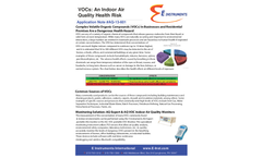 VOCs for An Indoor Air Quality Health Risk Brochure