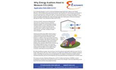 Indoor Air Quality Monitor for Why Energy Auditors Need to Measure CO2 (IAQ)  Brochure