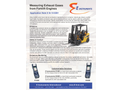 Hand Held Analyzer for Forklift CO Emissions  Brochure