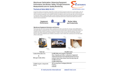 Portable Emissions Monitor for Warehouse Safety Optimization: Emissions & Air Quality Issues  Brochure