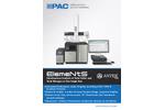 ElemeNtS - Total Elemental Combustion Analyzer  Brochure