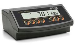 Hanna - Model HI2210 and HI2211 - Benchtop pH Meter and pH ORP Meter