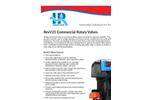 Hankscraft - Model RevV21 - Commercial Rotary Valves Specifications Brochure