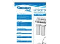 Hankscraft - Model RevV4 - Certified Water Softening Systems Specifications Brochure