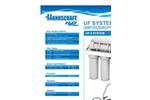 Hankscraft - Model RevV4 - Certified Water Softening Systems Specifications Brochure