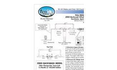 ECOsmarte - Model 1250 GPD - Rainwater or Grey Water System Brochure