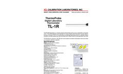 ThermoProbe - TL-1R - High Precision Digital Thermometer Brochure