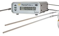 ThermoProbe - Model TL2-A - Precision Bench-top Laboratory Reference Thermometer - Dual Channel & USB Data Logger