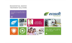 Ecosoft Ecomix - Softening Systems Brochure
