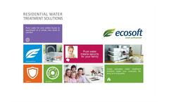 Ecosoft - Model FU - Softening Systems Brochure