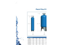 FILOX - Model R - Iron & Manganese Filters – Brochure