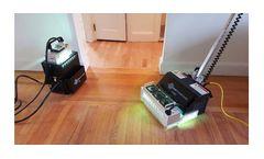 Model JFC-412 Series - UV Floor & Handheld Cure Systems