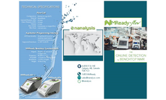 NMReady-Flow - Online Detection By Benchtop NMR - Datasheet