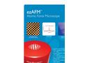 Model ezAFM - Portable Atomic Force Microscope Brochure