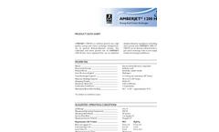 AMBERJET - 1200 H - Strong Acid Cation Exchanger Datasheet