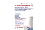 Model MBA - Combination Units Brochrue