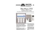 Puro - Model 35T - Drinking Water System Brochure
