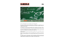 Overview of MCM Products Brochure