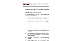 Sampling with a MicroView ATEX Portable Hygrometer & Bottled Gas Dryer Application Note