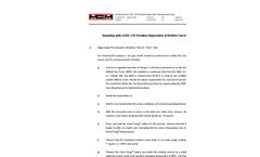 Sampling with a DDL CIS Hygrometer & Bottled Gas Dryer Application Note