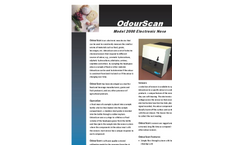 OdourScan - Model 2000 - Electronic Nose Device Brochure