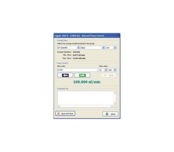 Adagio - Syringe Pump Control Software