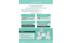 Orochem - Sample Preparation Filtration Plates Brochure
