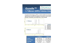 Gazelle - Model G17AQ-930 - Column  Brochure