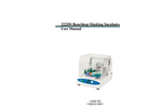 Model 222DS - Benchtop Shaking Incubator Manual