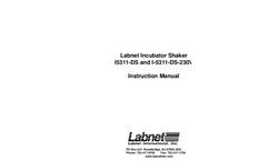 Model 311DS - Environmental Shaking Incubator Manual