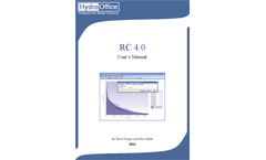 Hydro Office - Version RC - Recession Curves Analysis Tool Brochure
