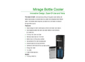 Mirage - Model SKU: MIR311D-3 - Bottle Coolers Brochure