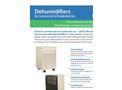 Model D165HG - Dehumidifiers Brochure