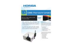 Monochromator Brochure