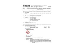 Regis - Model PFPA - Pentafluoropropionic Anhydride Datasheet