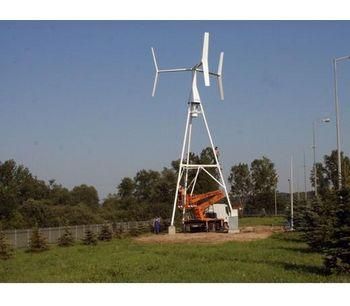 Small Vertical Wind Turbine-1