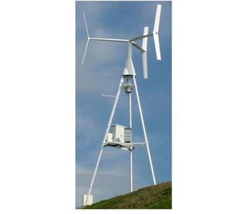 ANew - Model S1 - Small Vertical Wind Turbine