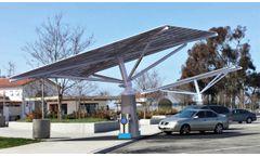 Solar Tree - Model DCFC - DC Fast Charging
