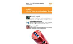 Model C-ALS - Borehole Deployable Laser Scanner Brochure
