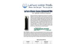 Watch - Model UF 2500 - Softener System Brochure