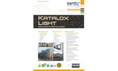 Katalox-Light - Advanced Catalytic Filtration Media - Datasheet