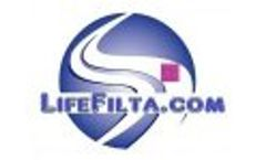 `LifeFilta` Nano Water Filters (2 nano ~ 0.002 µm!) Straws & Bottles 25042011 Video