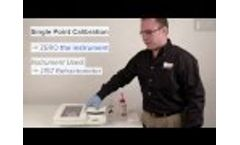 Refractometer Calibration, How to Perform a Single & 2 Point Calibration on a Rudolph J157 Video