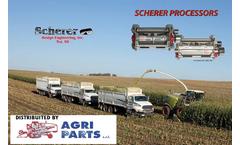 Scherer HD Processor-CLAAS 800 models