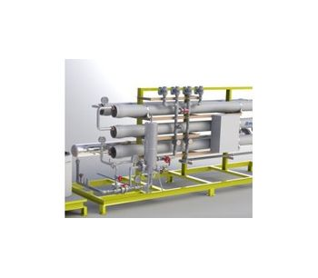Model NF - Nanofiltration Skid System for Lead Battery Recycling